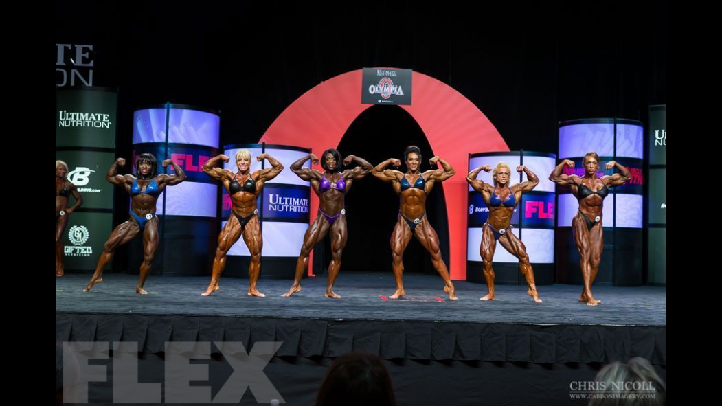 2014 Olympia Women's Bodybuilding Pre-Judging Call Out Report thumbnail