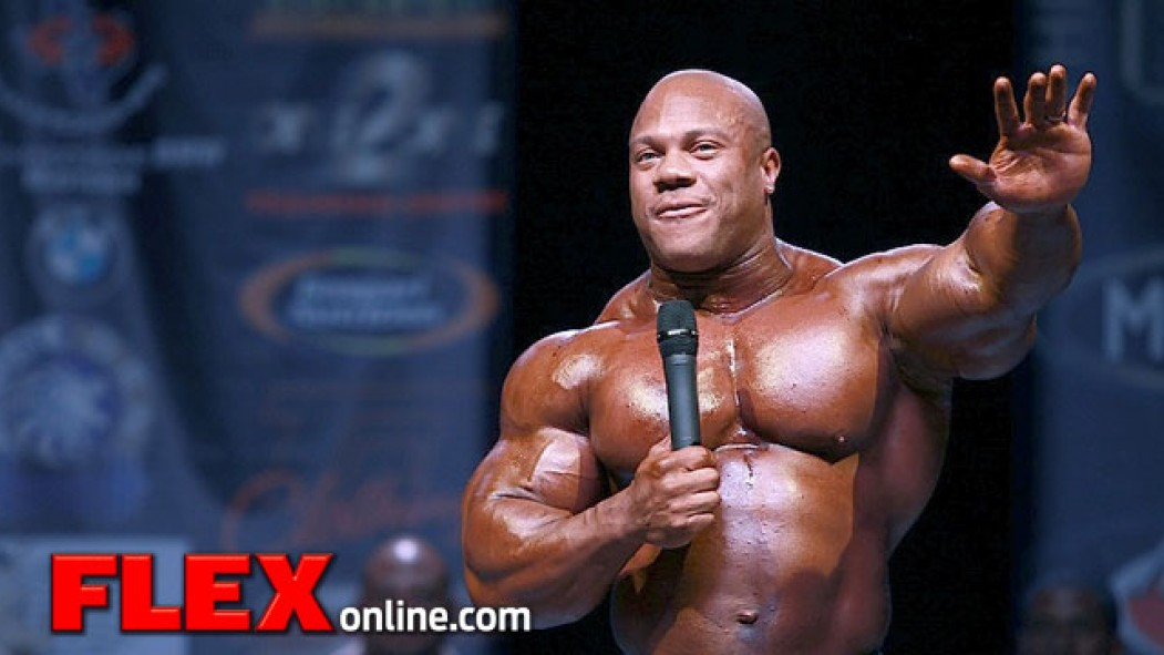 2013 Phil Heath Classic Results thumbnail