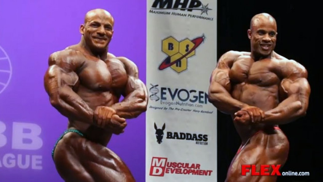 2013 NY Pro Posing Highlights and Final Comparisons thumbnail