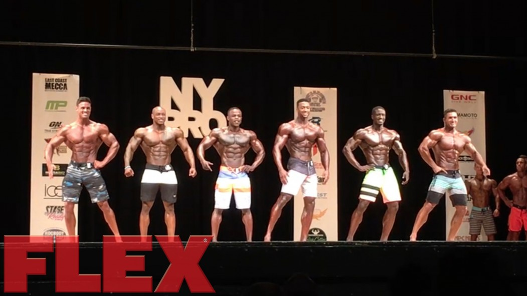 2017 IFBB New York Pro Men's Physique Call Out Video Report thumbnail