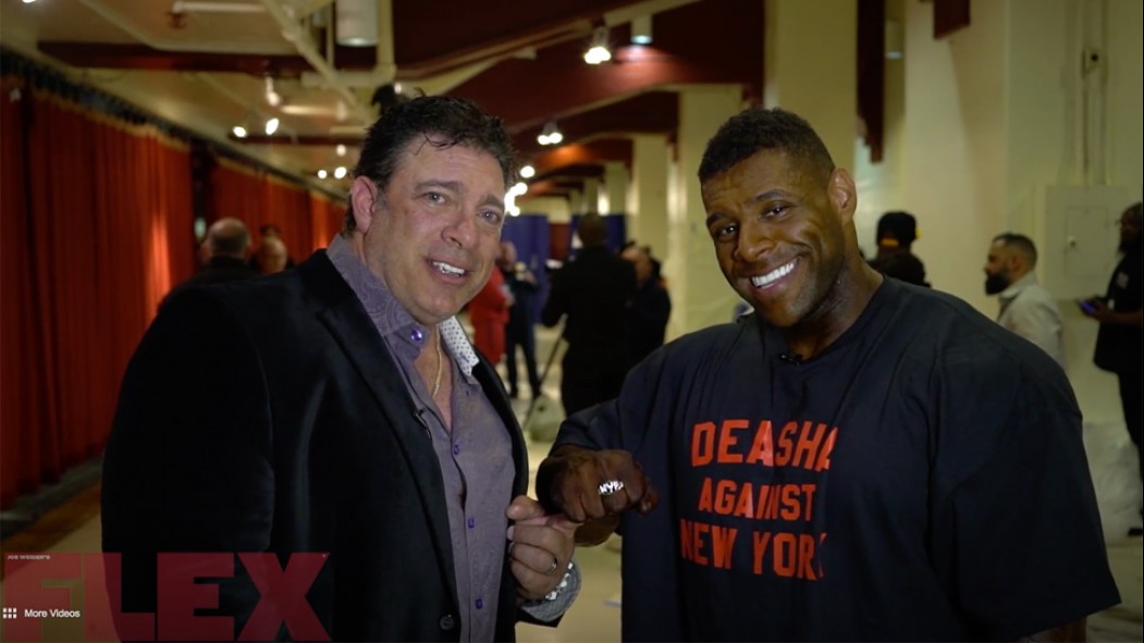 Bob Cicherillo Interviews the 2018 IFBB New York Pro Champ, Nathan DeAsha Video Thumbnail