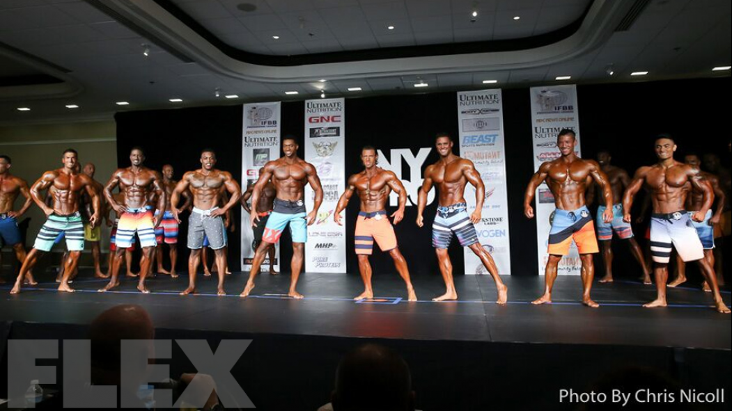 2016 IFBB New York Pro Men's Physique Call Out Report thumbnail