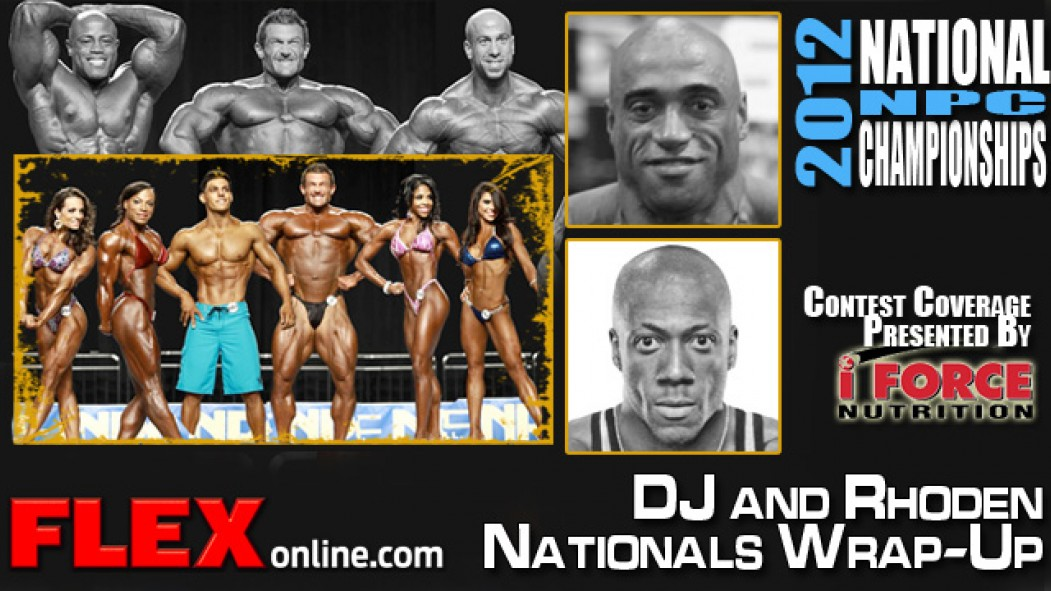 Rhoden and DJ Wrap-Up 2012 NPC Nationals thumbnail