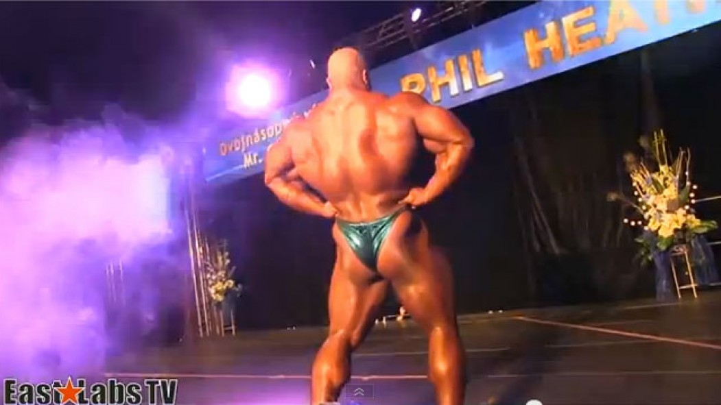 Phil Heath Guest Posing at the 2013 Mozolani Classic thumbnail