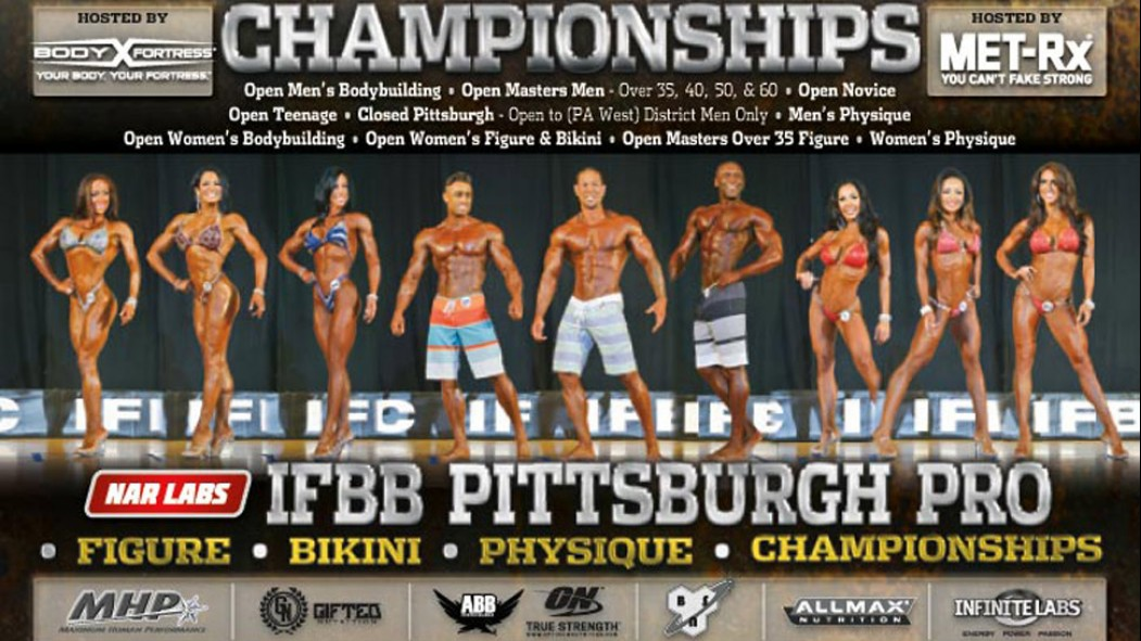 Information on the 2015 IFBB Pittsburgh Pro thumbnail