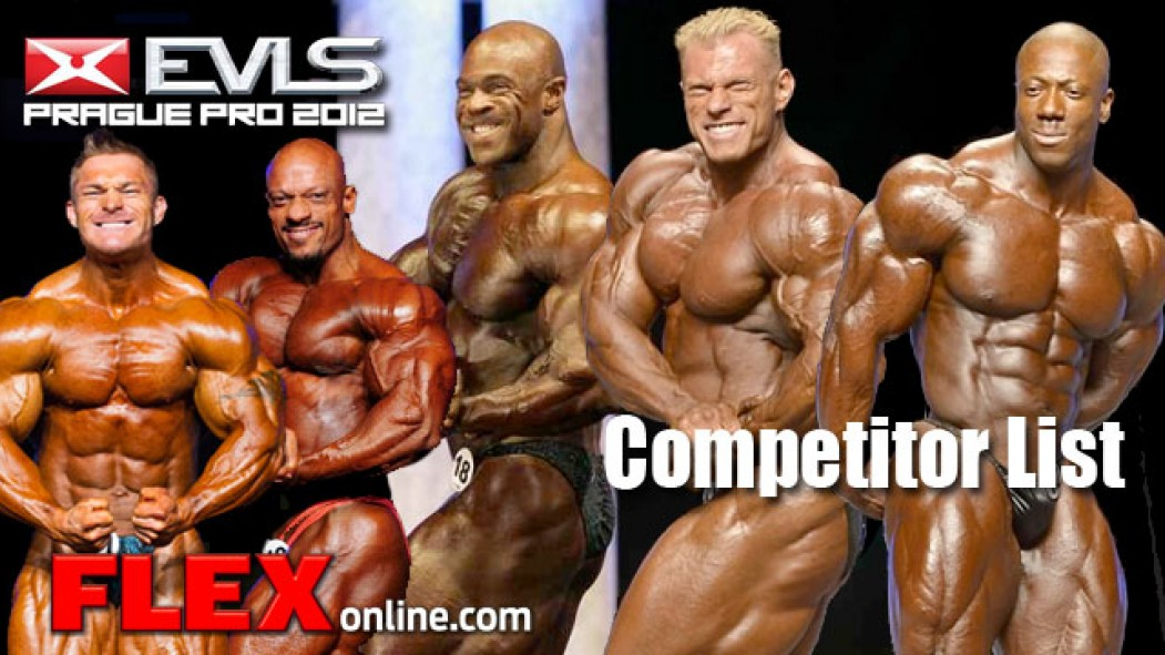 Prague Pro 2012 Competitor List Announced thumbnail