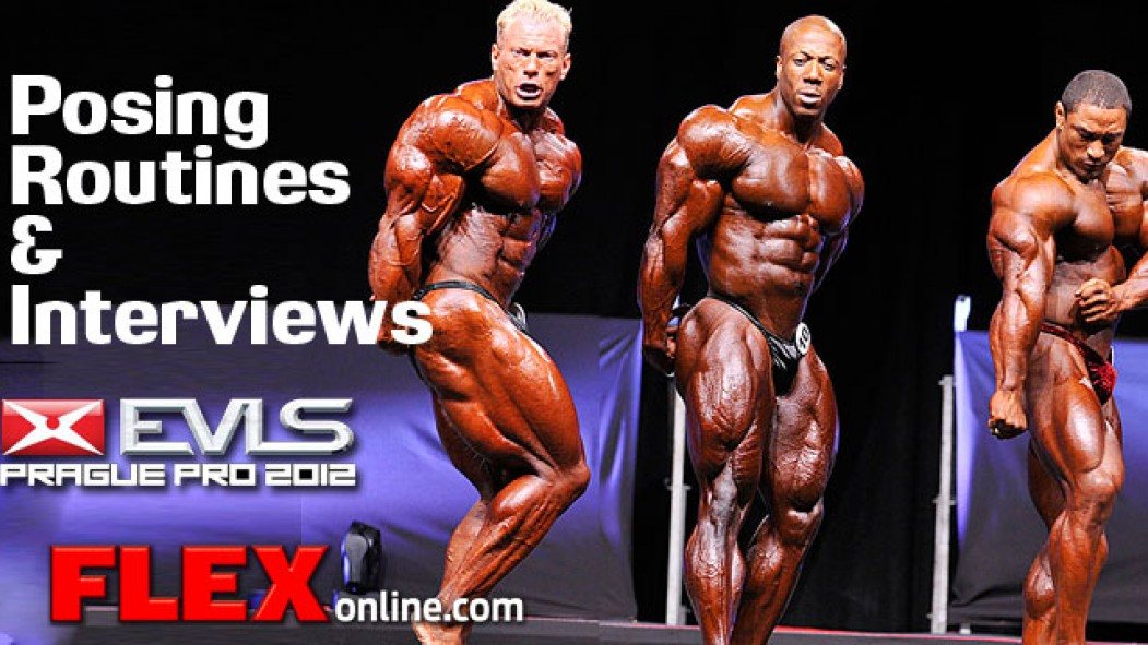 2012 Prague Pro Stage Video and Interviews thumbnail