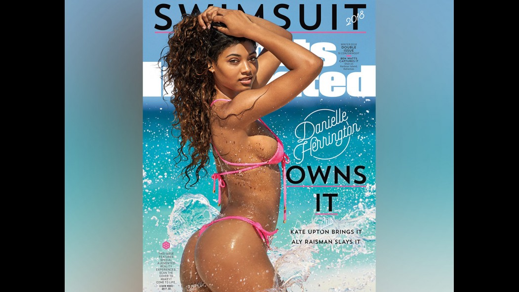 Danielle Herrington on the cover of Sports Illustrated thumbnail