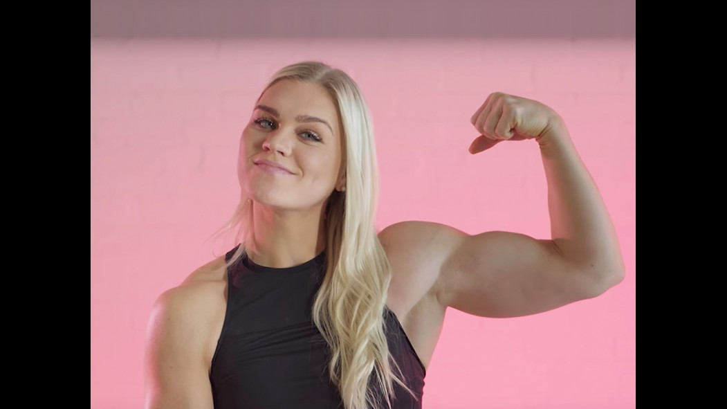 Watch: Katrin Davidsdottir Dating Tips for Men thumbnail