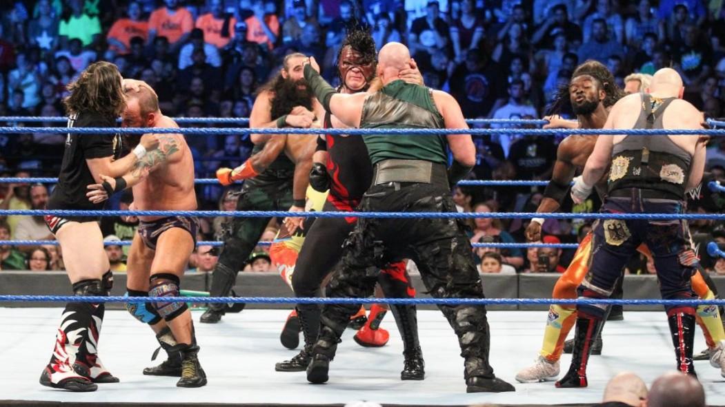 WWE 'Smackdown' Recap: Kane, Daniel Bryan, and 'The New Day' Dominate 10-Man Tag Team Match thumbnail