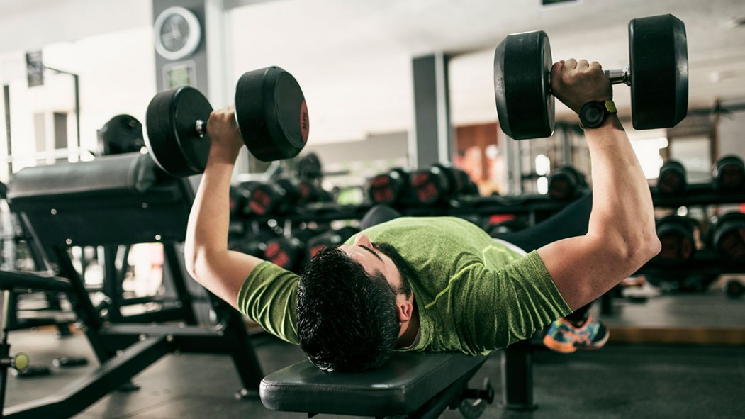 The 30-Minute Dumbbell Workout to Build Your Chest thumbnail