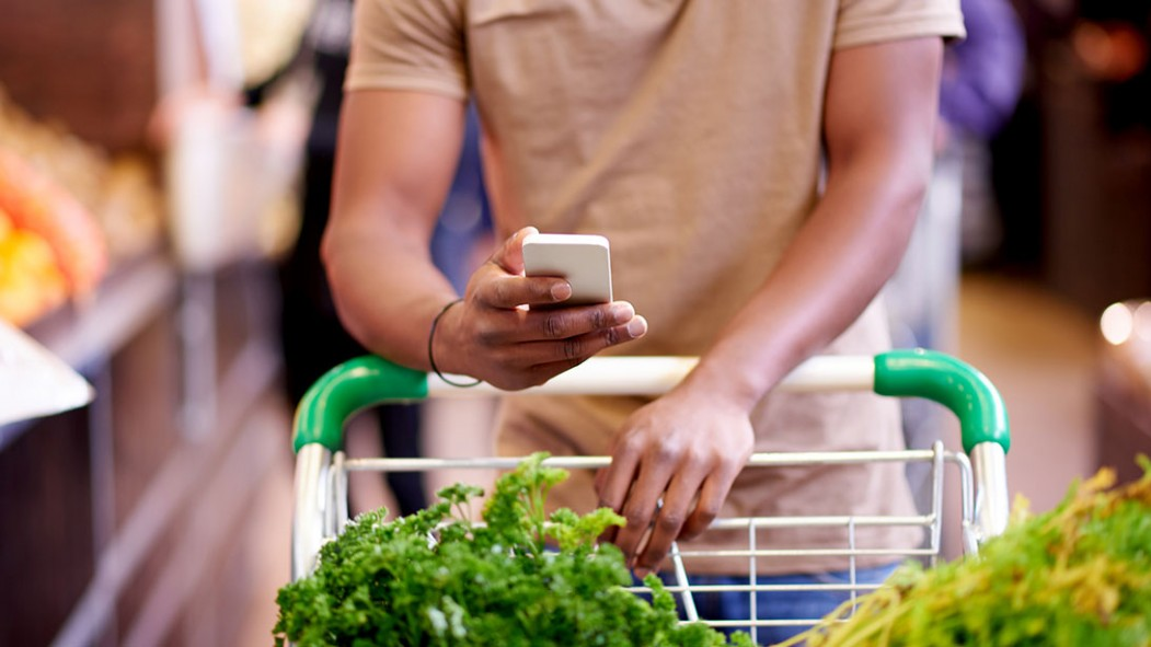 Man Grocery Shopping thumbnail