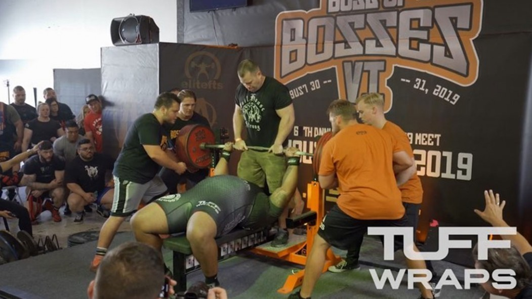 Julius Maddox Bench Press World Record thumbnail