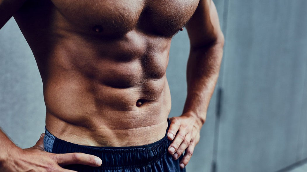 Miniatura rasgada de abdominales inferiores