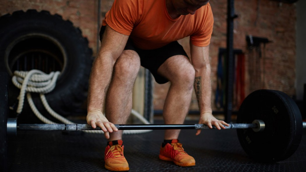 Deadlift With Weightlifting Shoes thumbnail