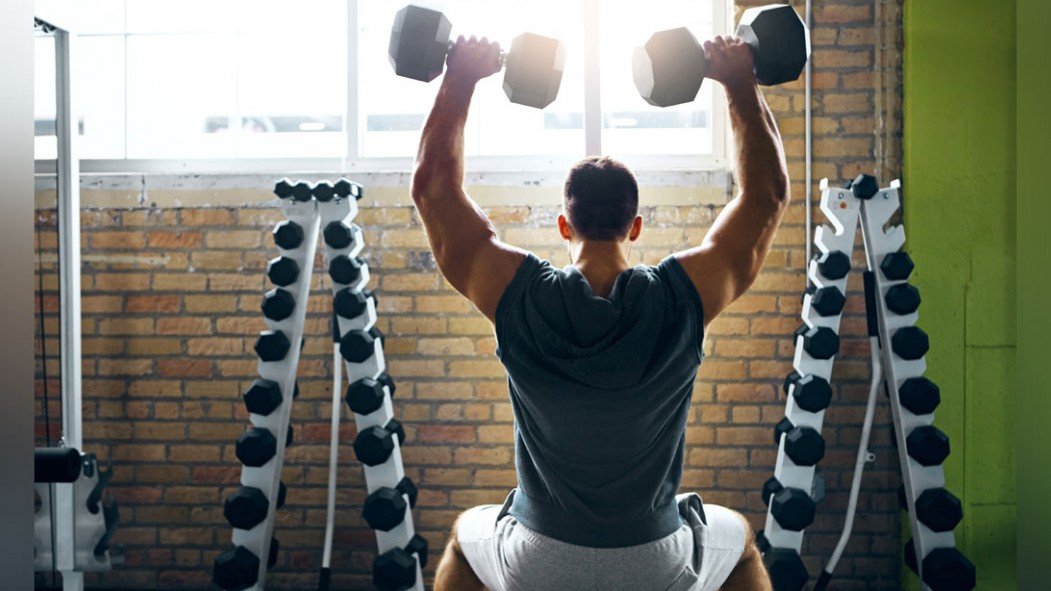 The 30-Minute Dumbbell Workout to Build Your Shoulders & Traps thumbnail