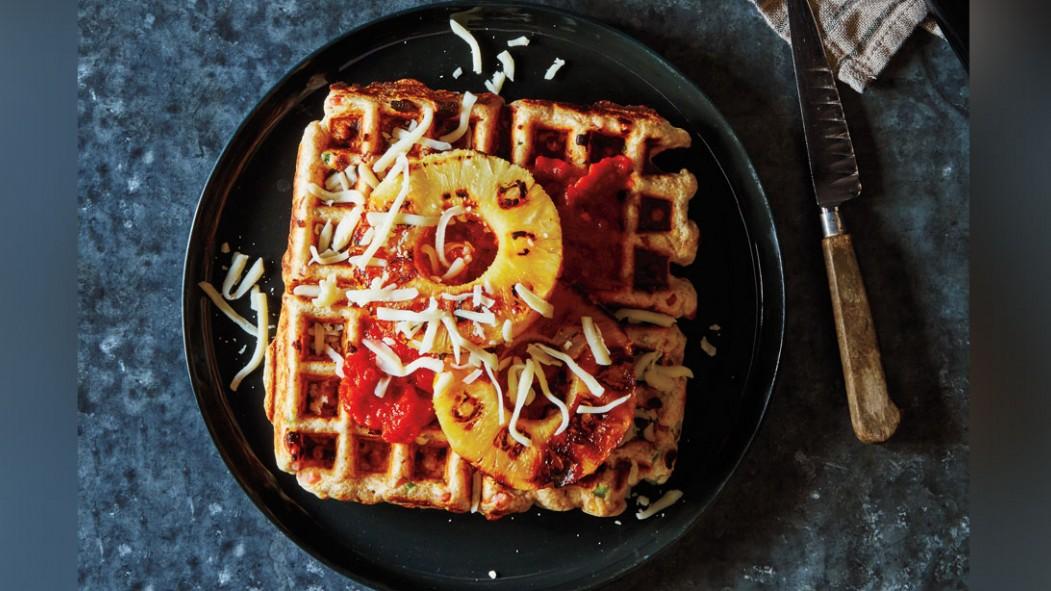 Hawaiian Pizza Waffles thumbnail