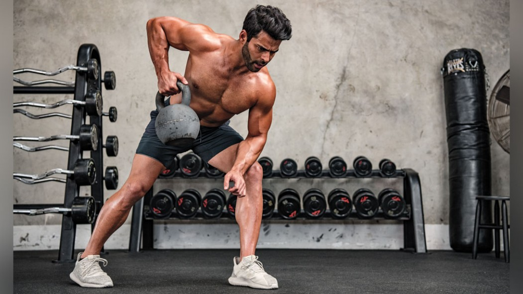 The 3-Move, Bottoms-Up Kettlebell Workout thumbnail