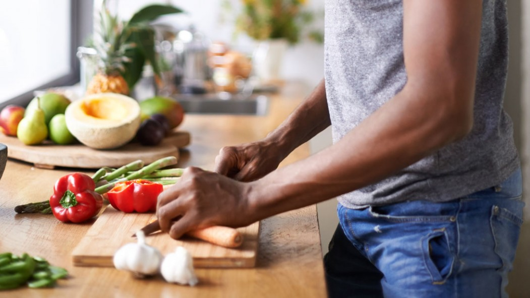 Vegetables on a Cutting Board thumbnail