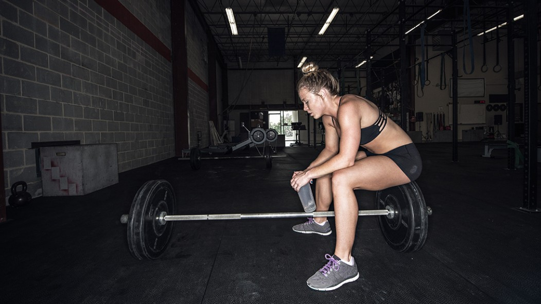 Tired Crossfit Woman thumbnail
