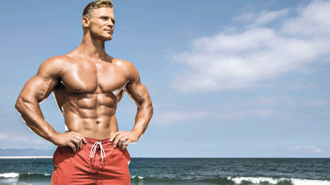 Muscle-Man-Beach-Summer-Posing thumbnail