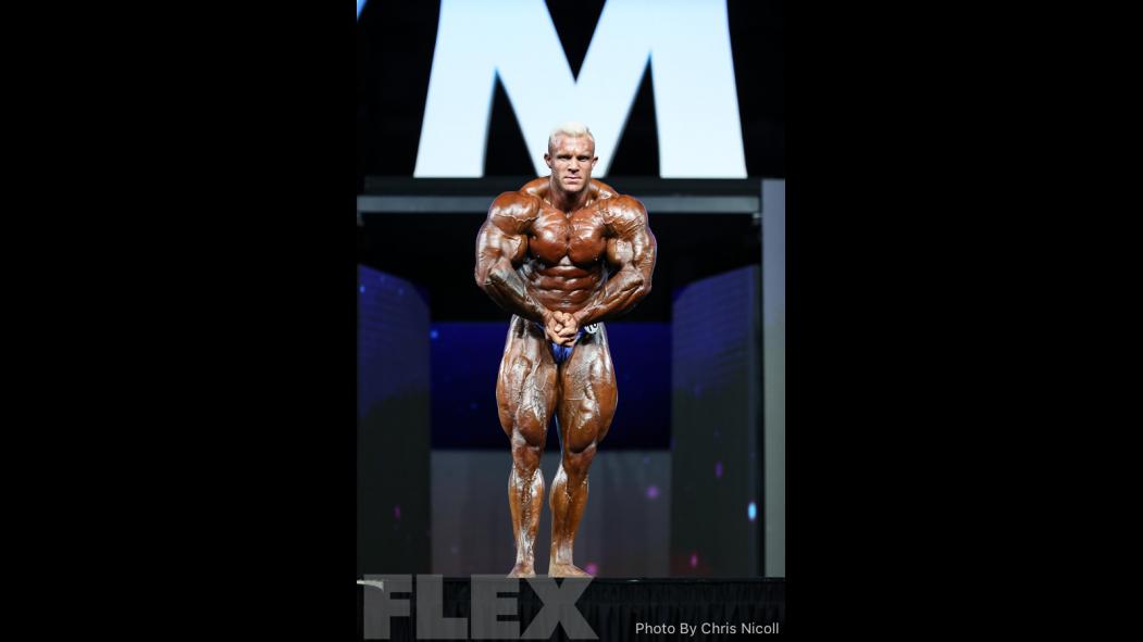 Iain Valliere - Open Bodybuilding - 2018 Olympia thumbnail