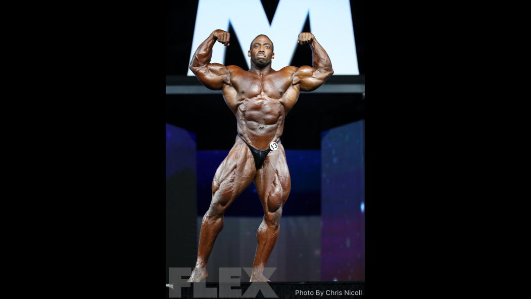 Cedric McMillan - Open Bodybuilding - 2018 Olympia thumbnail