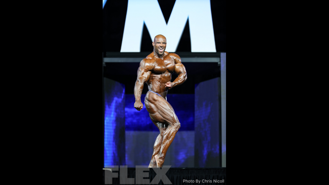 Juan Morel - Open Bodybuilding - 2018 Olympia thumbnail
