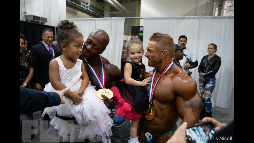 Backstage with the 2018 Olympia Champions thumbnail