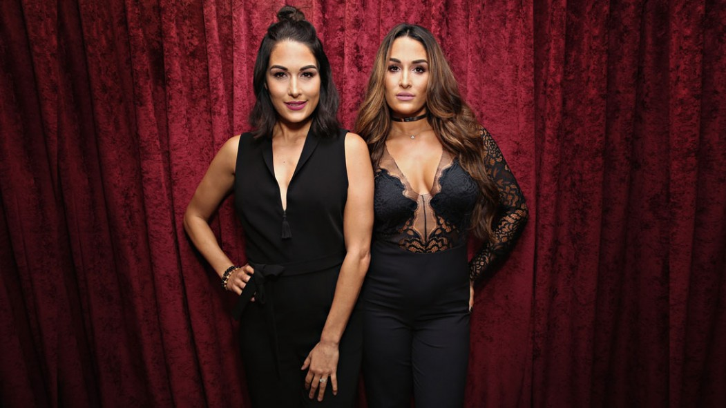 WWE superstars Brie and Nikki Bella Video Thumbnail