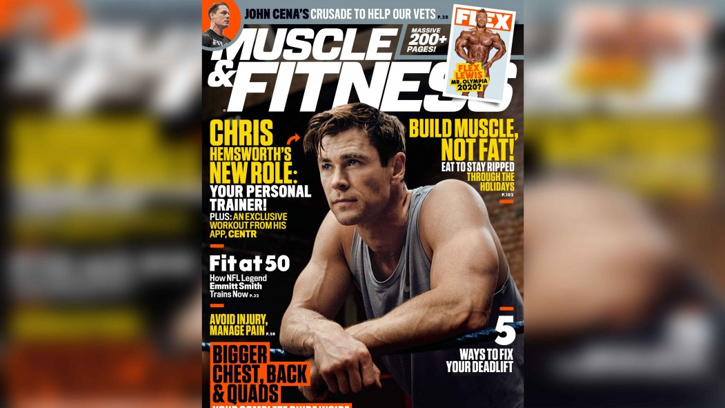 Get the December 2019 Issue of 'Muscle & Fitness' thumbnail