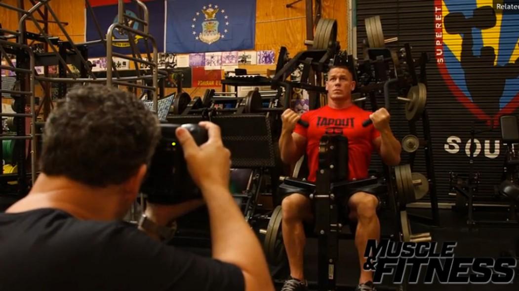 Behind the Scenes at John Cena's Cover Shoot Video Thumbnail