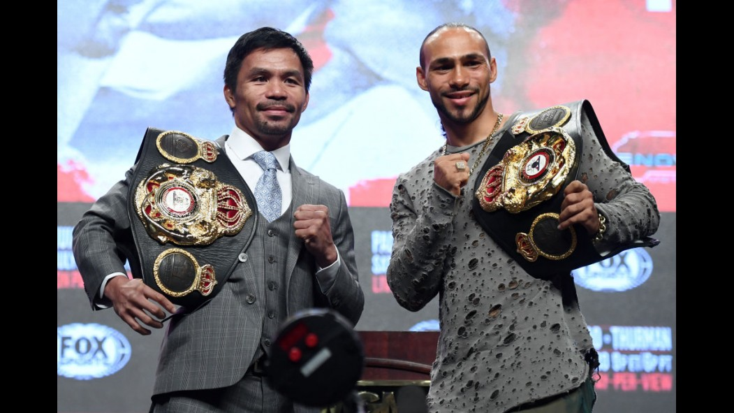 "How Keith ""One Time"" Thurman prepared for his big fight against Manny Pacquiao thumbnail"
