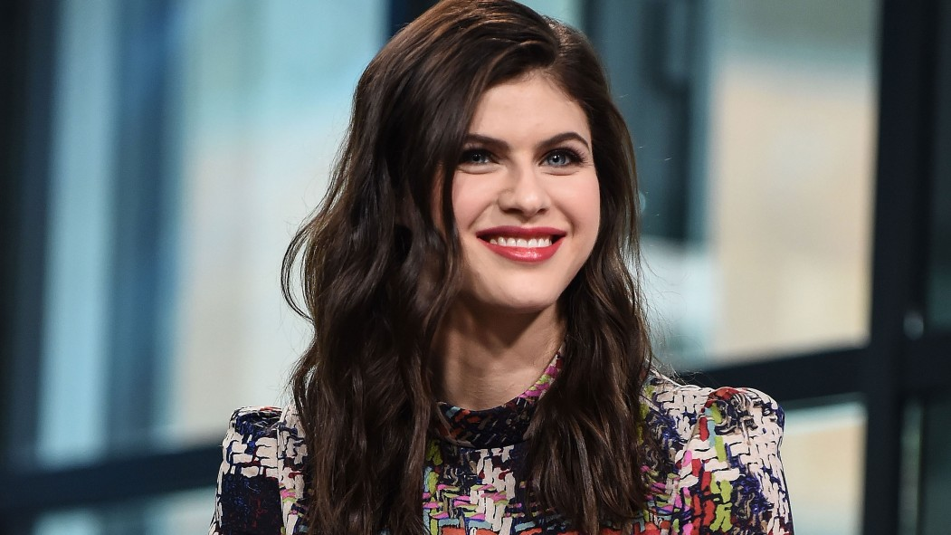 Alexandra Daddario talks heavy lifting, dog-based workouts, and her two-time co-star, The Rock.  thumbnail