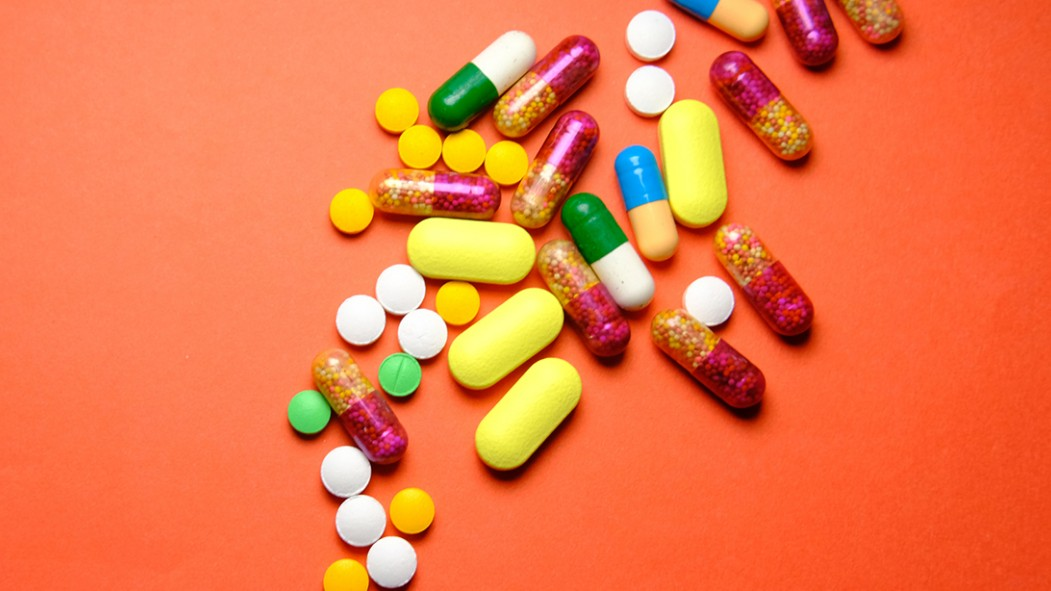 A picture of vitamins on a table thumbnail