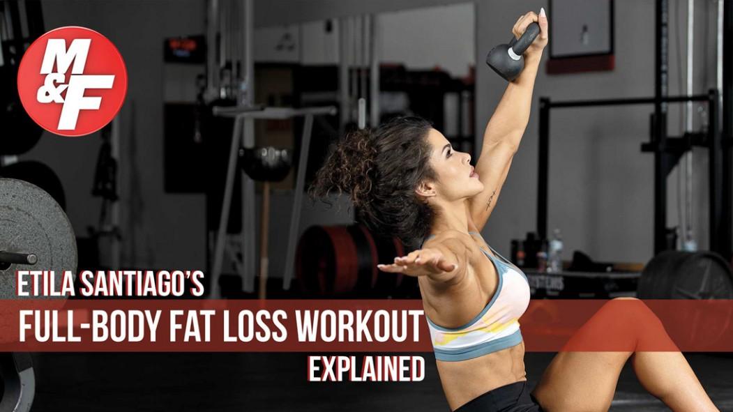 IFBB-Figure-Etila-Santiago-Full-body-Fat-Loss-Workout-Routine Video Thumbnail