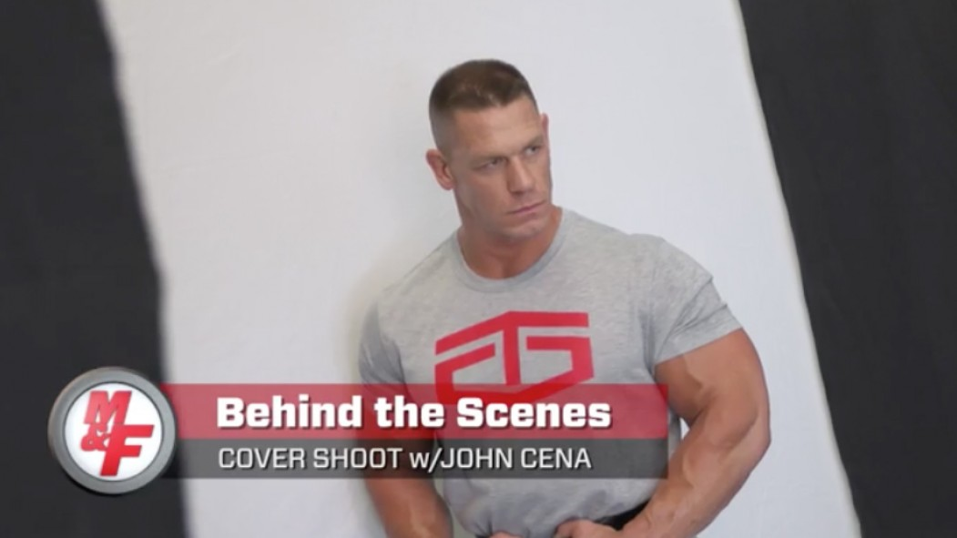 Behind the Scenes at the John Cena Cover Shoot Video Thumbnail