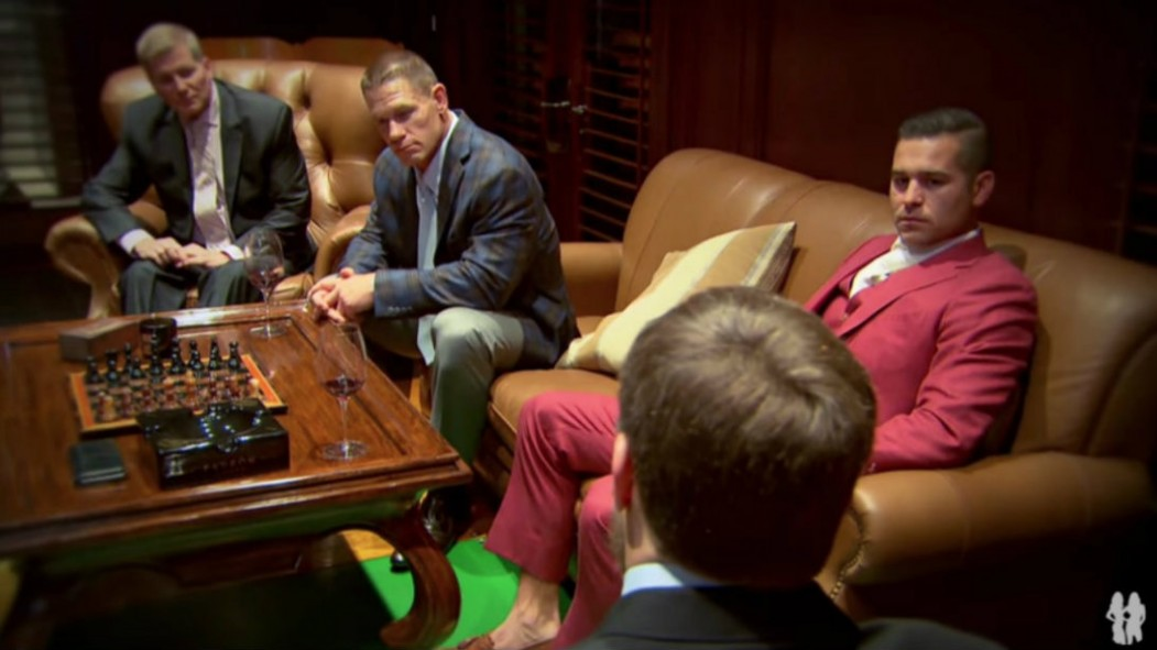 John Cena With Friends In Gentleman's Room thumbnail
