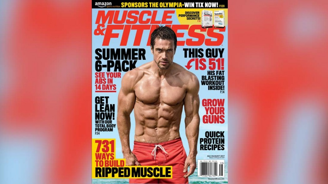 Get the July/August Issue of 'Muscle & Fitness' on Newsstands Now thumbnail