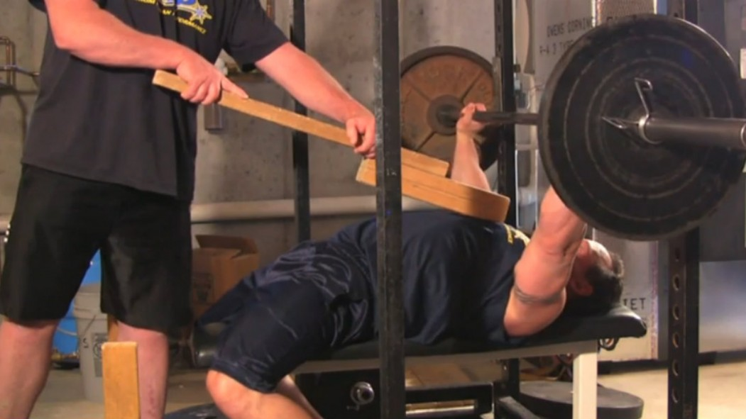 MHP Coaches Corner - Joe Mazza bench press with boards Video Thumbnail