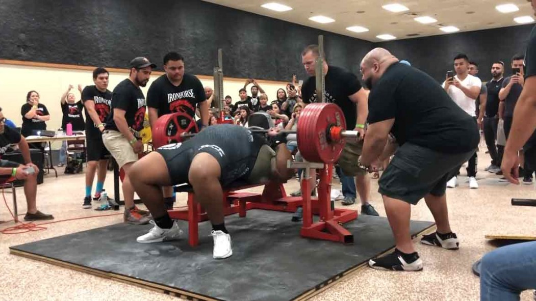 Julius Maddox Sets American Bench Record With 723 Pound Lift thumbnail