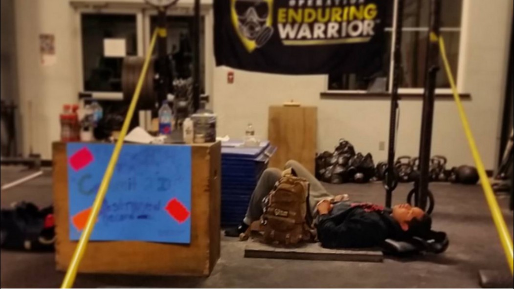 Navy Air Traffic Controller Breaks World Record for Most Pullups in 24-Hours thumbnail