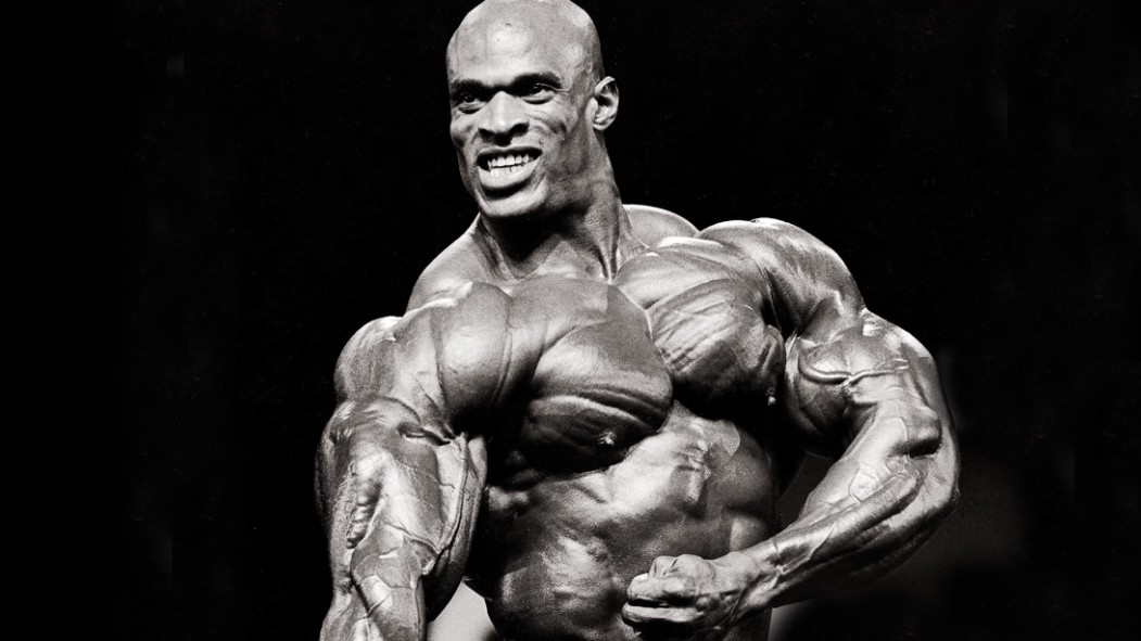 Mr.Olympia-Legend-Ronnie-Coleman-Posing-Black-and-White thumbnail