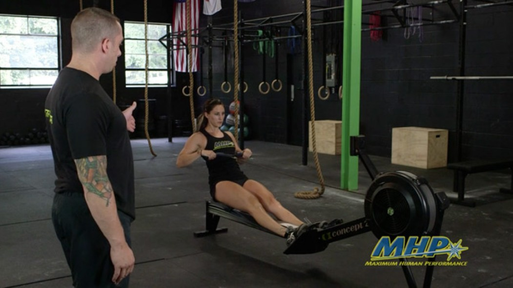 CrossFit Training - Rows Video Thumbnail