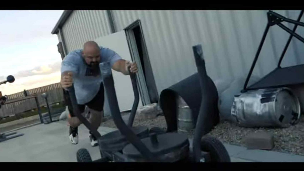 Four-Time World's Strongest Man Brian Shaw Sets Out to Lose 40 Pounds  thumbnail