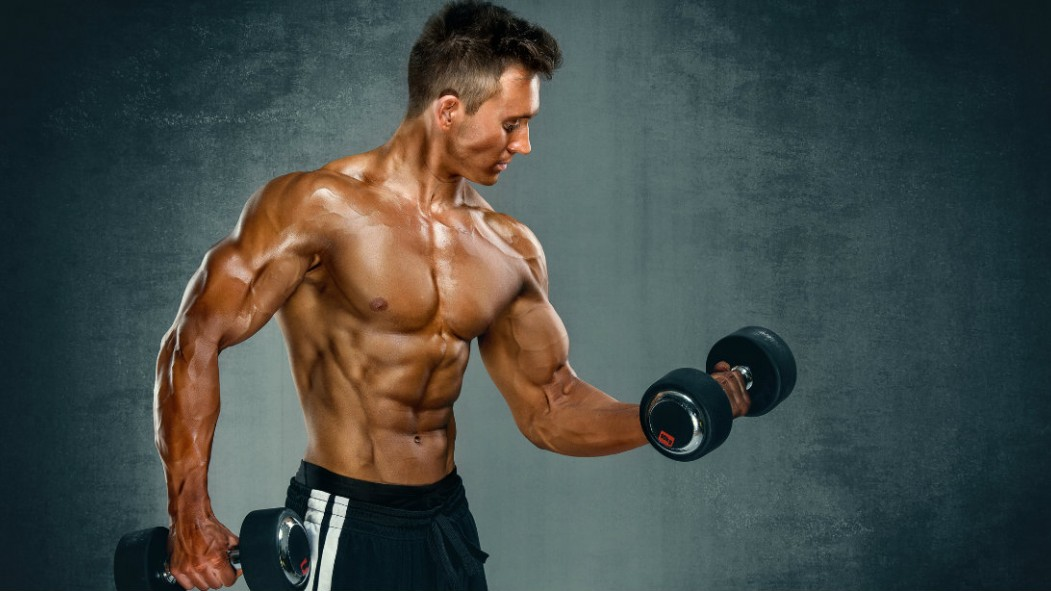 Standing Dumbbell Bicep Curl thumbnail