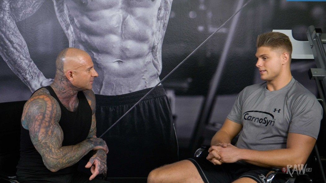 Raw 2.0 with Dr. Jim Stoppani: Connor Davis Video Thumbnail