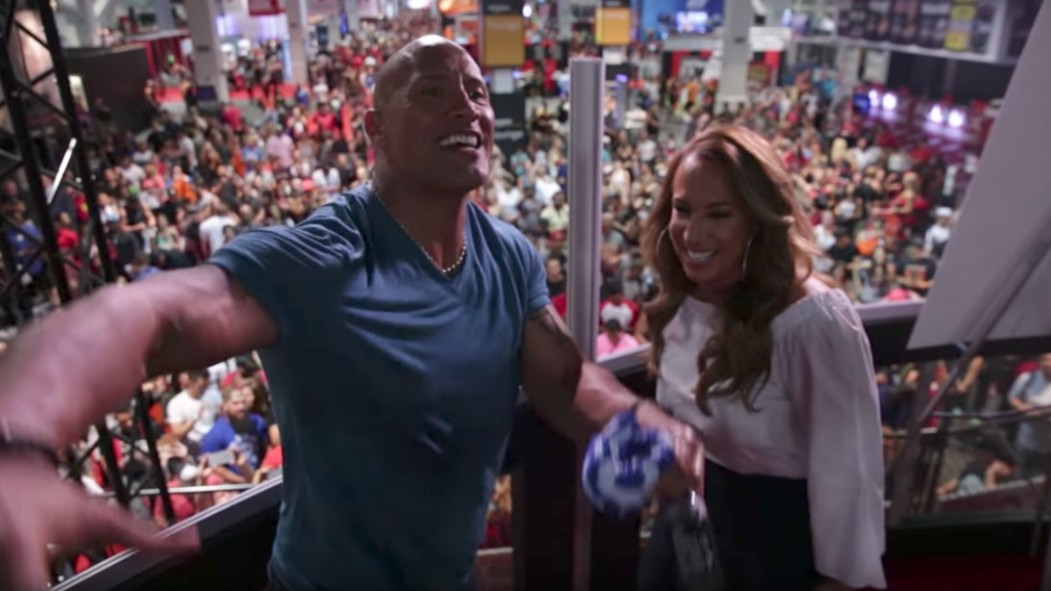 WATCH: The Rock's 2017 Olympia Takeover  thumbnail