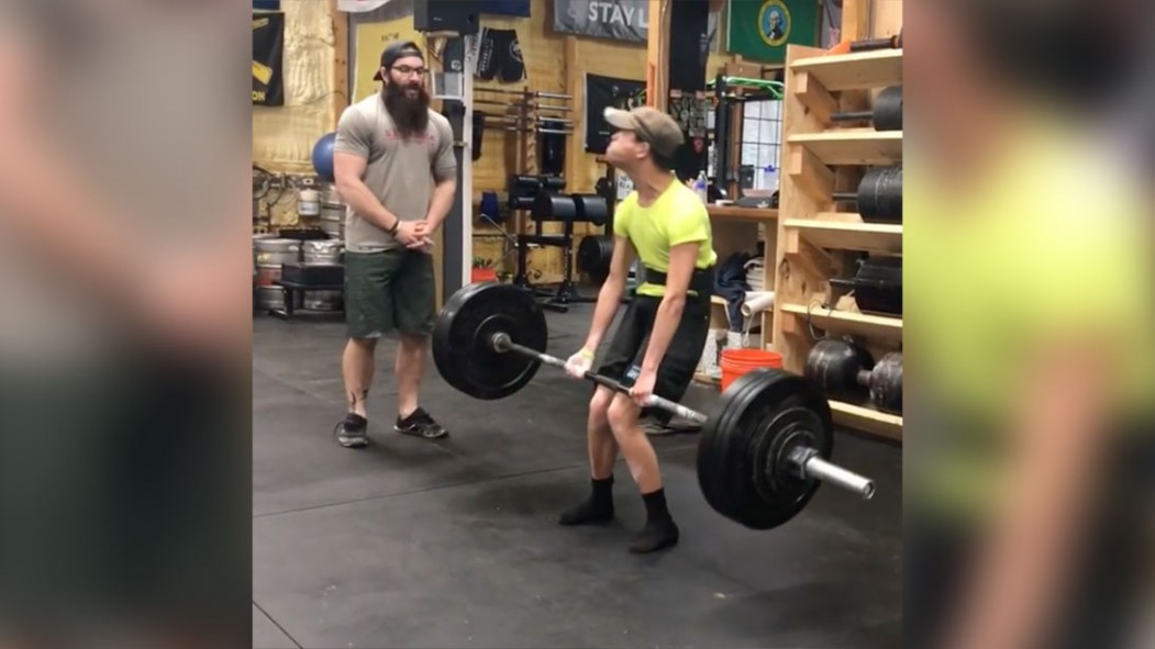Miles Taylor's Cerebral Palsy Didn't Stop Him From Deadlifting 200 Pounds thumbnail