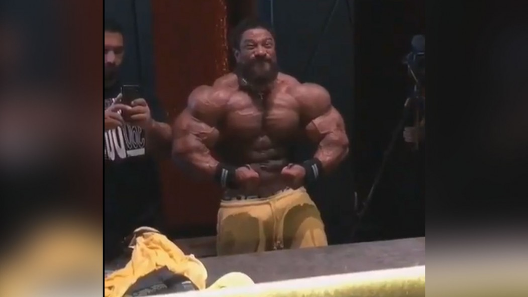 Roelly Winklaar Is Looking Massive 6 Weeks Out from Mr. Olympia thumbnail